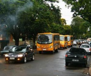 Novas regras para o transporte escolar em Curitiba iniciam a partir de 2020