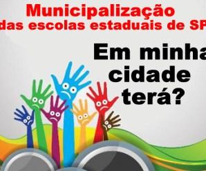 Municipalização da educação em SP? Qual a situação do seu município? Veja análise de dados