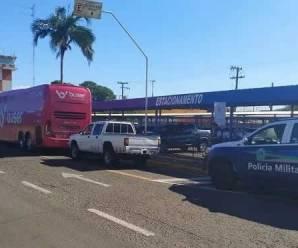 Por transporte irregular, ônibus da Buser é apreendido no Centro-Oeste nesta quarta-feira, 23