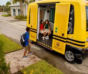 Pesquisa mostra se pais do Brasil, China e EUA aceitam suas crianças em ônibus escolar autônomo, sem motorista