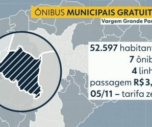 Vargem Grande Paulista será a 1ª cidade da Grande SP a oferecer ônibus de graça