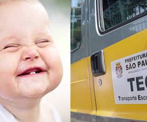 Baby-TEG, Prefeitura de SP cria projeto gratuito de transporte escolar para 5 mil bebês