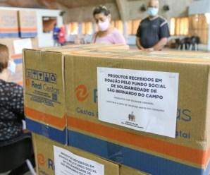 Scania doa 1.845 cestas básicas para profissionais do transporte escolar de São Bernardo do Campo