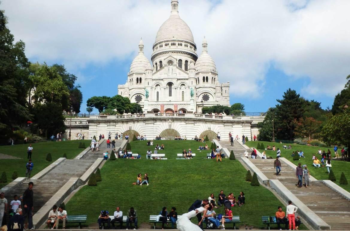 Fotos de viagem - Basílica do Sacré Coeur, Paris (França)