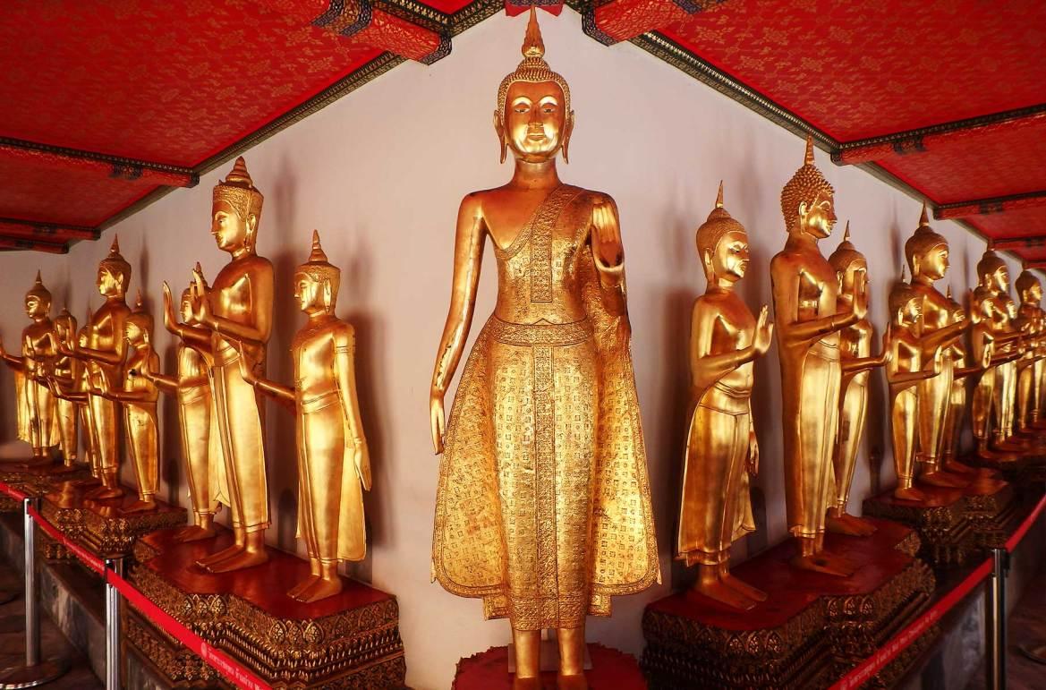 Fotos de viagem - Templo de Wat Pho, Bangkok (Tailândia)
