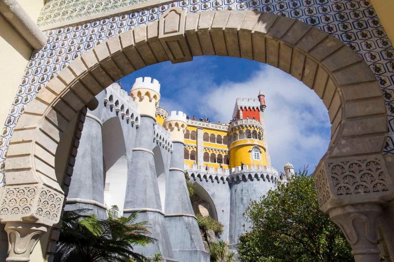 Fotos de viagem - Palácio da Pena, Sintra (Portugal)