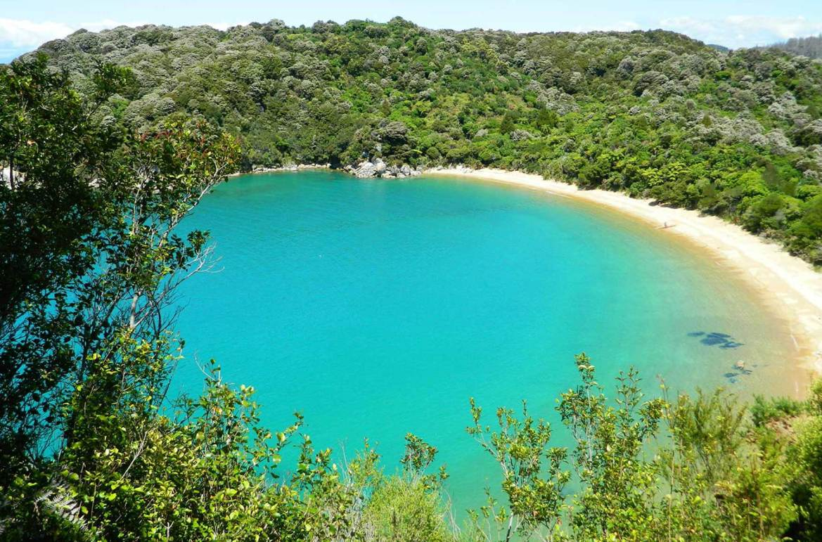 Fotos de viagem - Praia Te Pukatea, Parque Nacional Abel Tasman (Nova Zelândia)