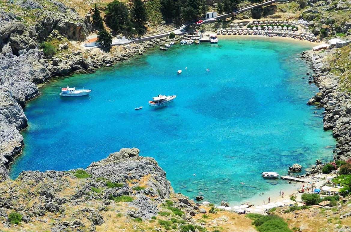 Fotos de viagem - Saint Paul's Bay, Ilha de Rhodes (Grécia)