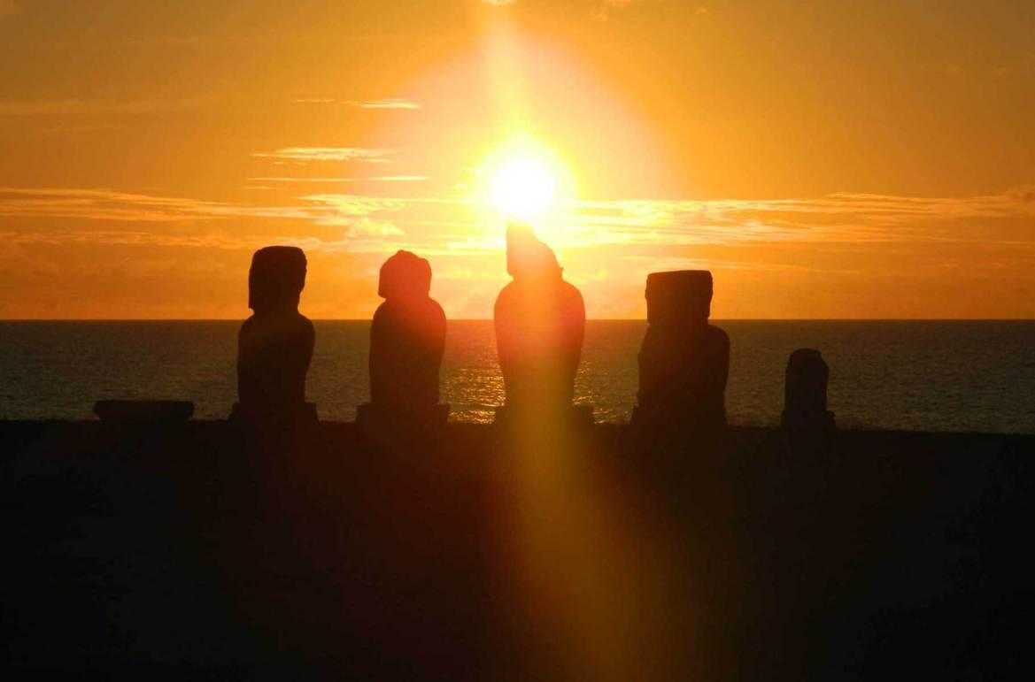 Fotos de viagem - Tahai, Ilha de Páscoa (Chile)