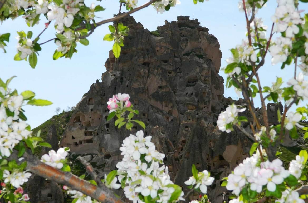 Fotos de viagem - Uchisar Castle, Capadócia (Turquia)