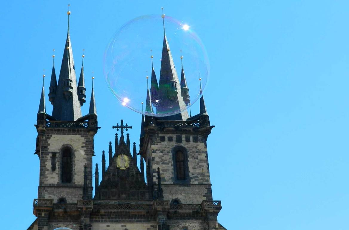 Fotos de viagem - Igreja da Nossa Senhora em Frente de Týn, Praga (República Tcheca)