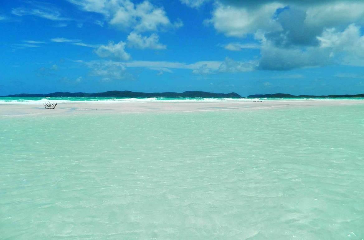Fotos de viagem - Whitehaven Beach, Ilha de Whitsunday (Austrália)