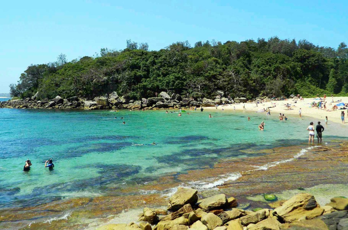 Praias mais lindas do mundo - Shelly Beach, em Sydney (Austrália)