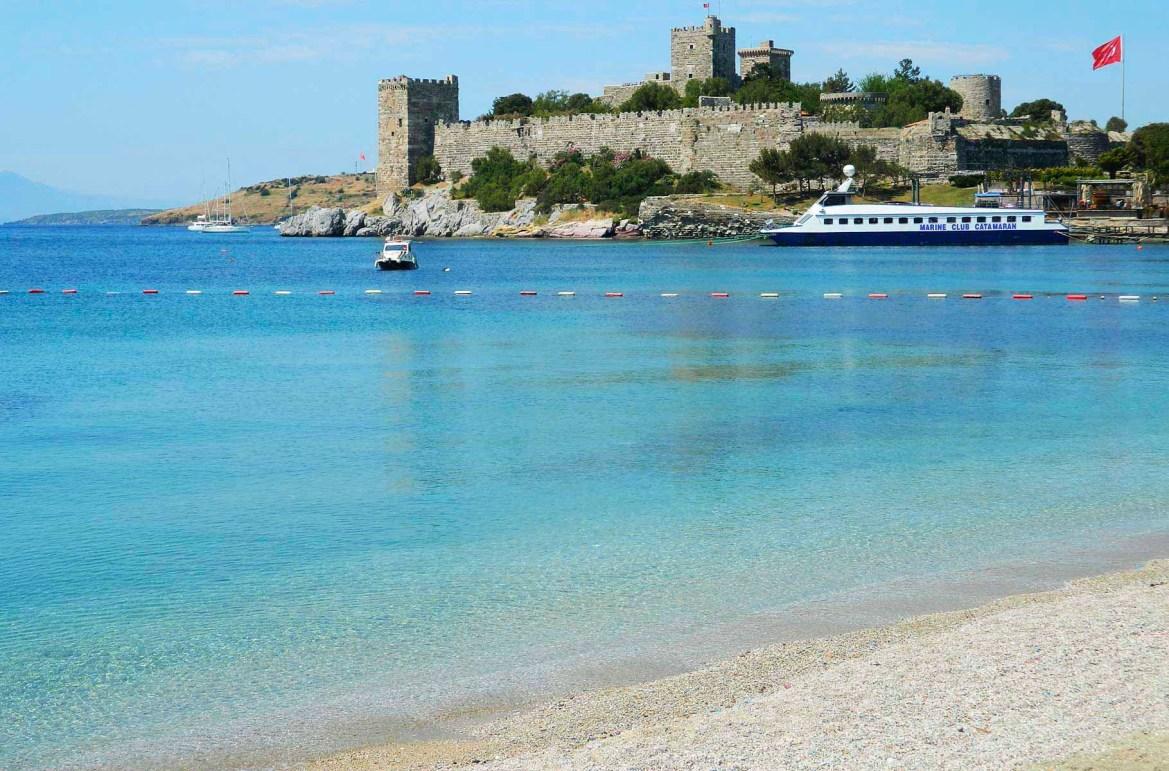 Praias mais lindas do mundo - Balneário de Bodrum (Turquia)