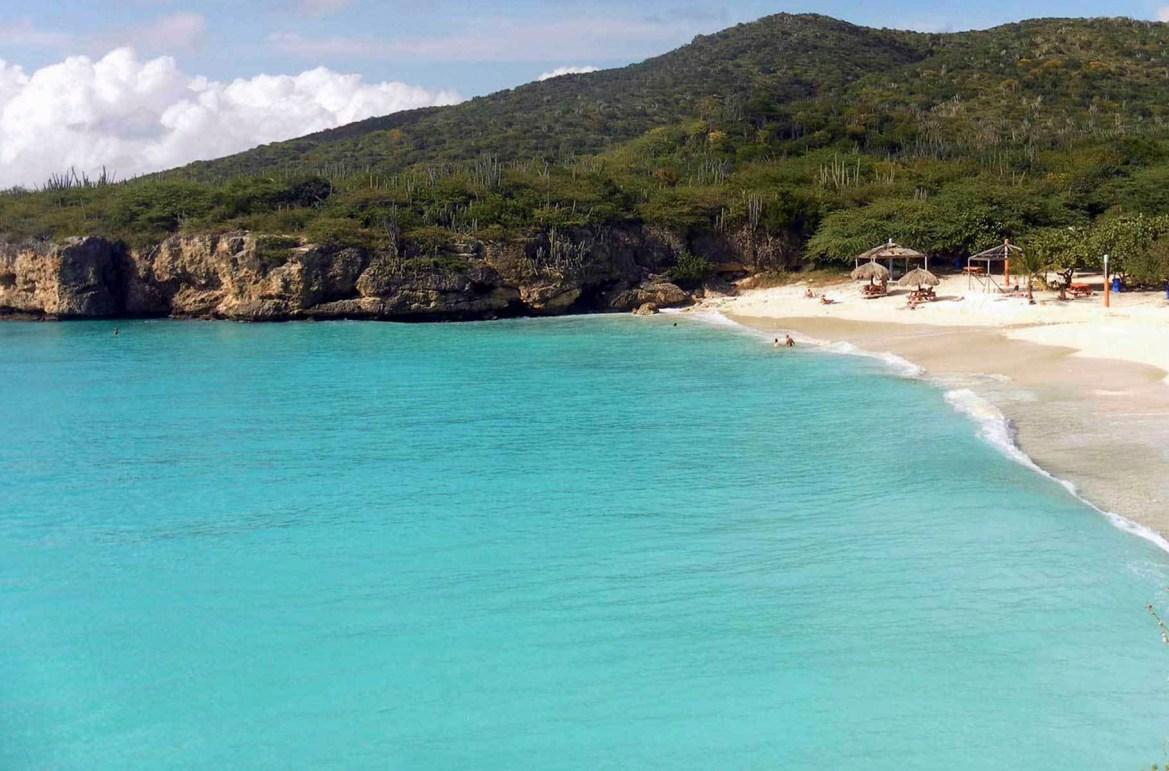 Praias mais lindas do mundo - Praia Abao, na Ilha de Curaçao (Caribe)