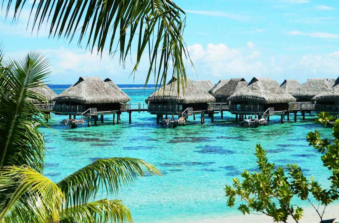 Praias mais lindas do mundo - Praia do Hotel Hilton, na Ilha de Moorea (Polinésia Francesa)