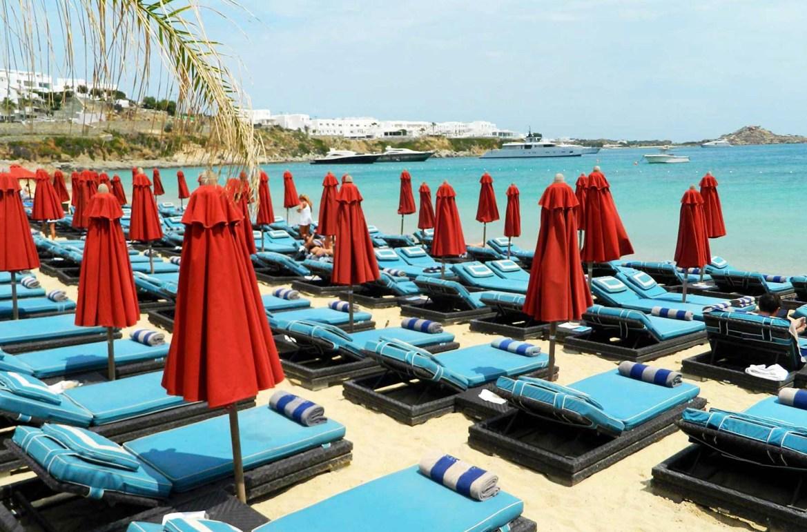 Praias mais lindas do mundo - Praia de Psarou, na Ilha de Mykonos (Grécia)