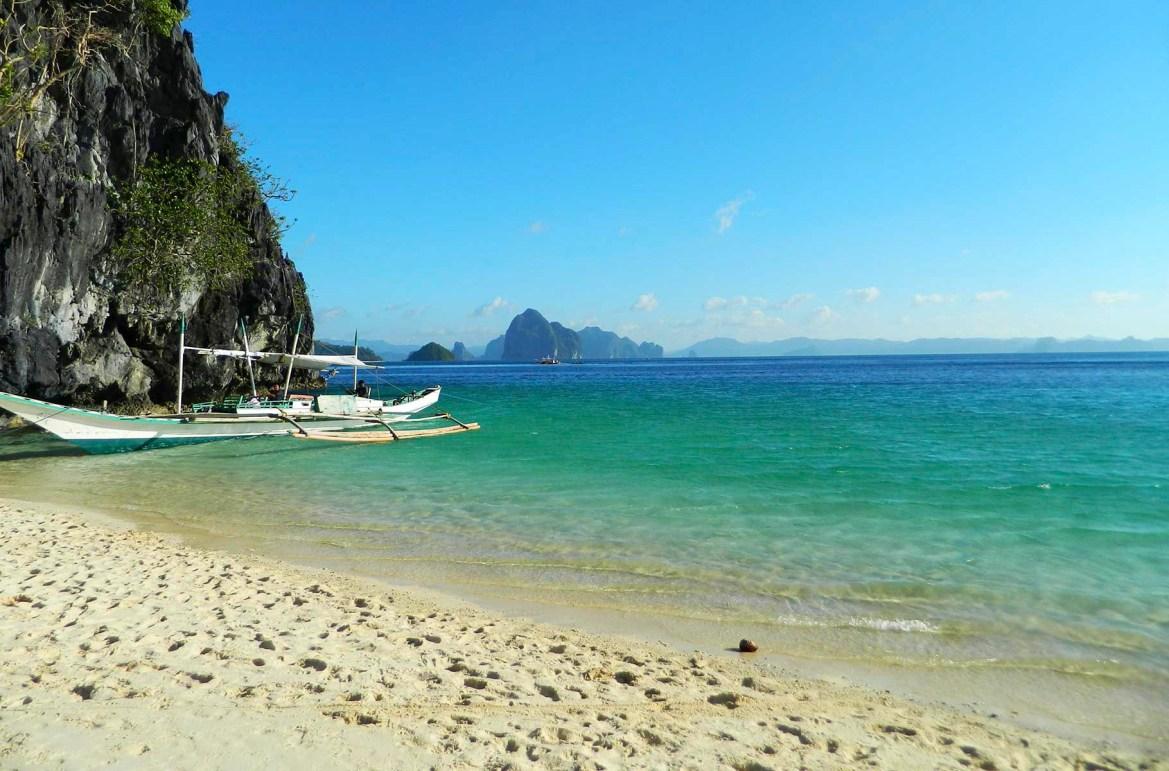 Praias mais lindas do mundo - Praia dos Sete Comandos, em El Nido (Filipinas)