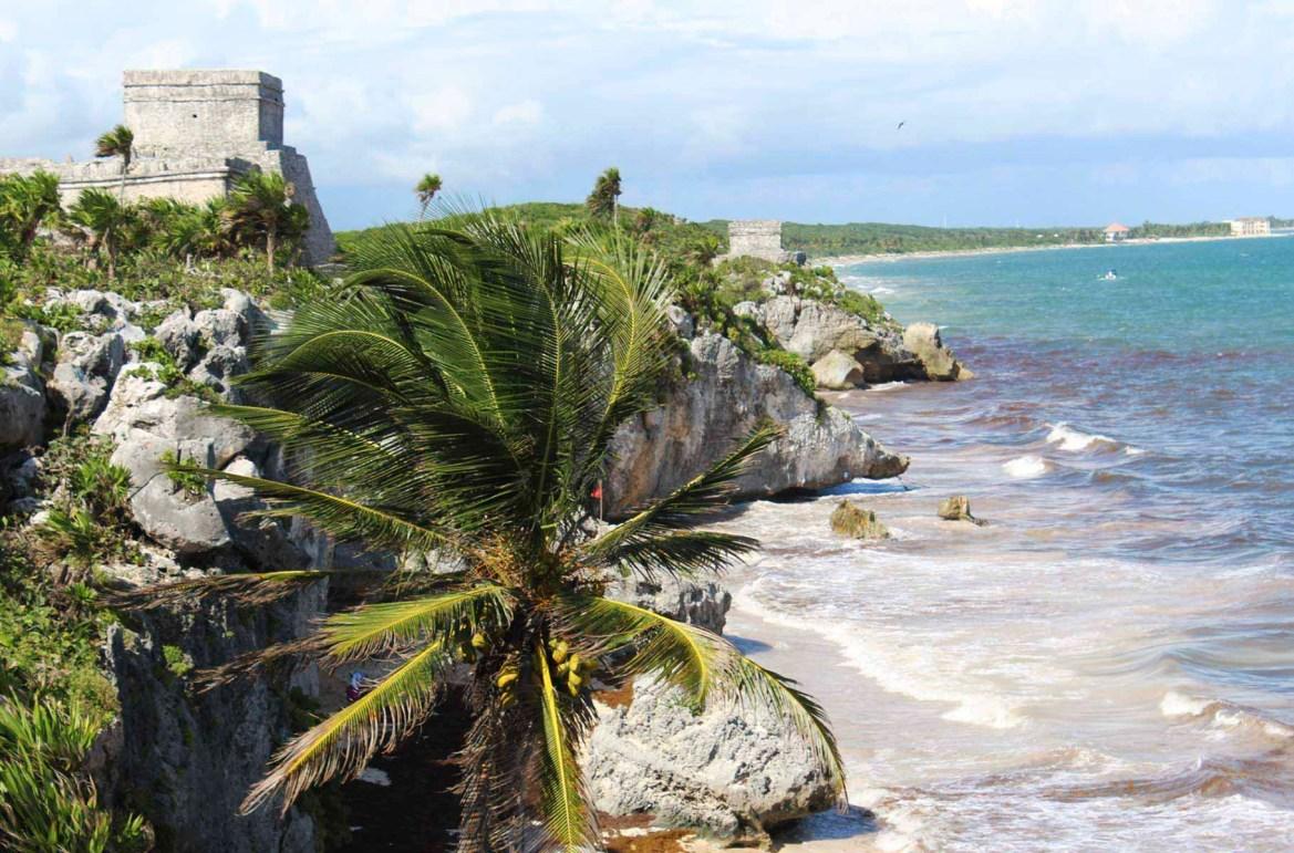 Praias mais lindas do mundo - Praia de Tulum, na Riviera Maia (México)