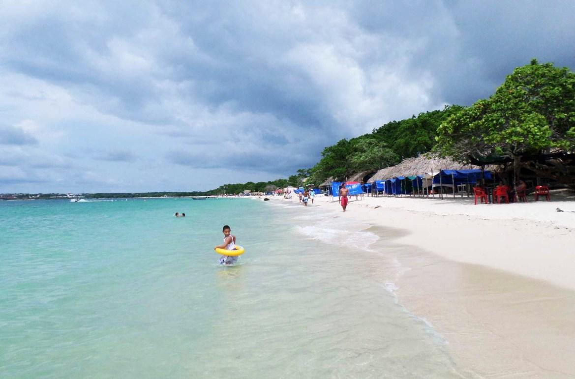 Praias mais lindas do mundo - Playa Blanca, em Cartagena (Colômbia)