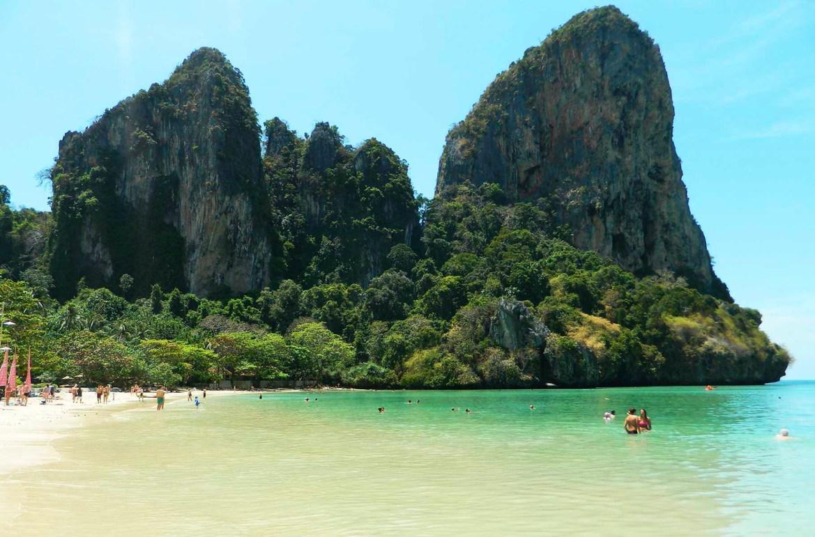 Praias mais lindas do mundo - Railay Beach, em Ao Nang (Tailândia)