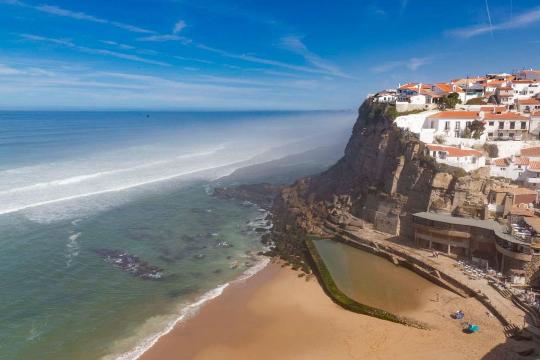 Praias mais lindas do mundo - Azenhas do Mar (Portugal)