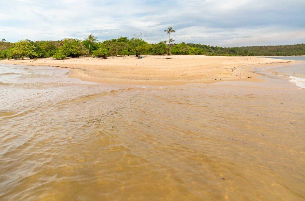 Praias de Alter do Chão - Ponta do Muretá