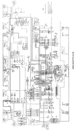Mk1 RS 2000 Wiring Diagram (Full Set) MK1 Escort AVO | eBay