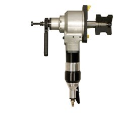 Pneumatic and Electric motors are easily interchanged