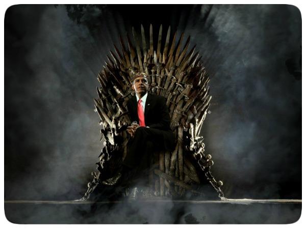 Barack Obama - Iron Throne