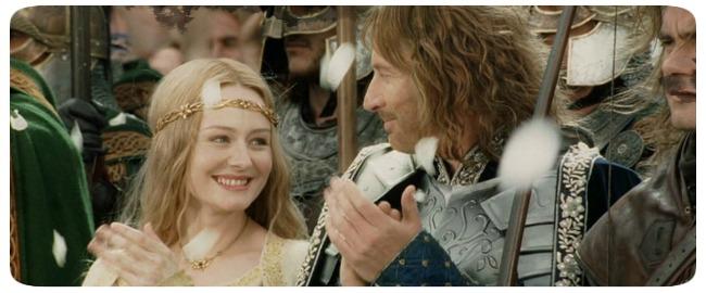 """Cena do filme """"O Senhor dos Anéis - O Retorno do Rei"""""""