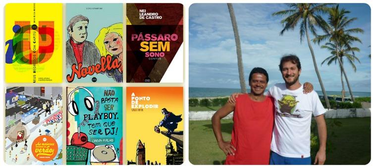 Lançamentos da Jovens Escribas - Sérgio Fantini e Carlos Fialho