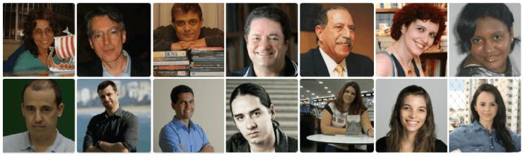 14 contribuições inéditas de escritores incríveis.