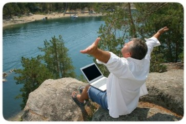 Escritor na Natureza
