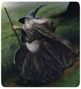 John Howe - Gandalf