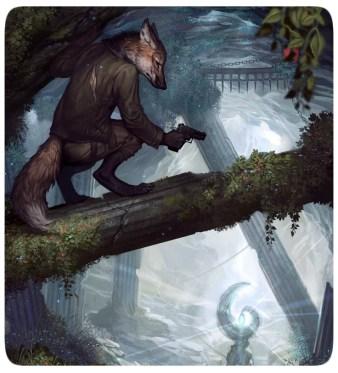 Lobo - Fantasia - RPG - Pistola