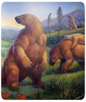 Preguiça Gigante - Extinção
