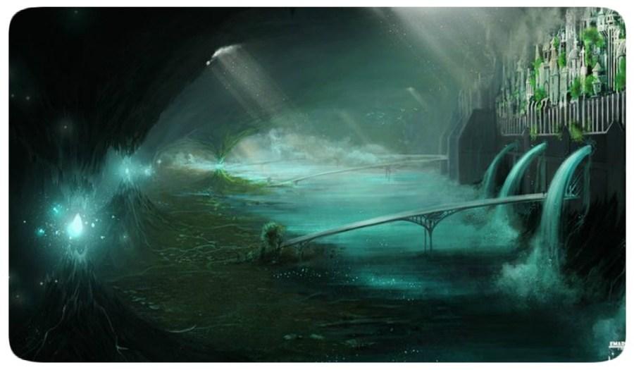 Cidade Subterrânea - Água