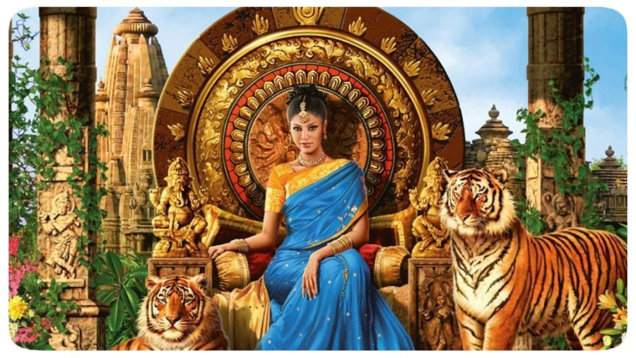 Rainha - Tigres - Trono