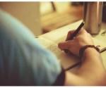 Escritor - Caderno - Lápis