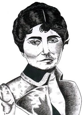 retrato rosalía de castro escribientes.com