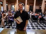 Germán Maretto, momentos antes de presentar la Antología 2013
