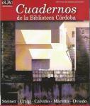 Cuadernos de la Biblioteca Córdoba