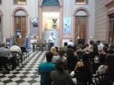 Público escuchando a Germán Maretto