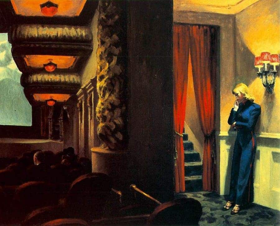 New York Movie - Edward Hopper