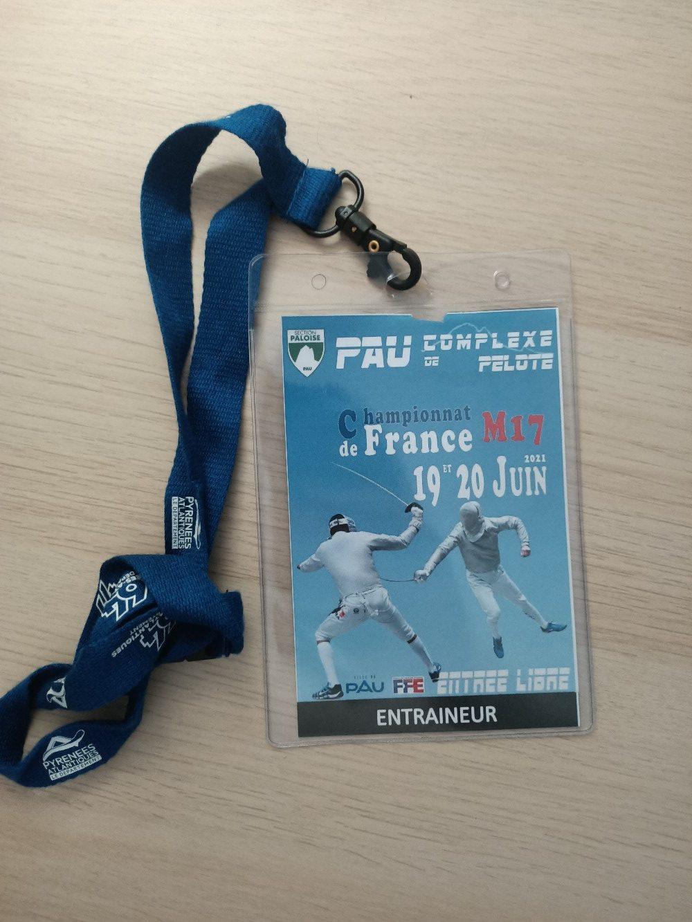 19 juin à Pau : finales nationales M17