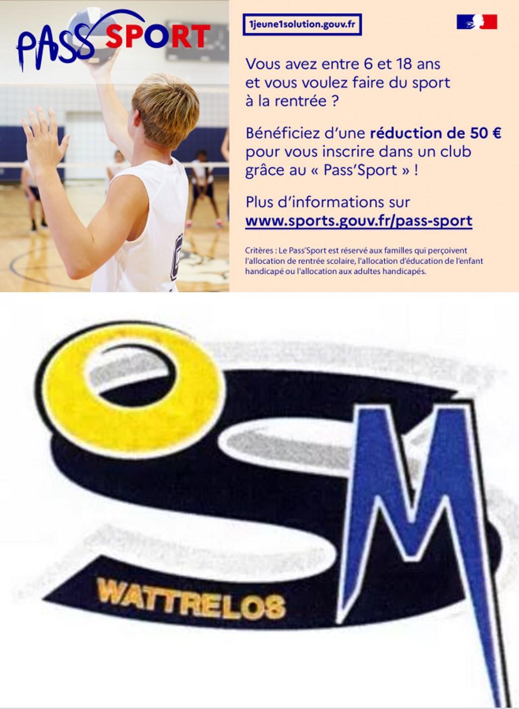 Les aides financières pour s'inscrire : Pass'sport de 50 € et «Bon OMS» pour bénéficier jusqu'à 51,5 €