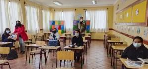 Inicio de clases presenciales 7° y 8°
