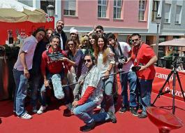 Cada alumno dirige un capitulo de la serie Akemarropa en el Festival de Malaga