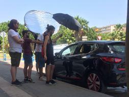 Cortometraje Heroína Alex Ortega Escuela Cine Malaga Actor Actriz Rodaje Cursos Casting Making Off Rodaje 1